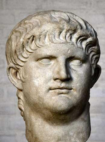A bust of Nero
