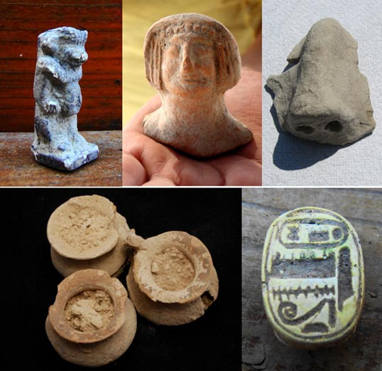 Los objetos de la excavación - Judea, Baal Cult