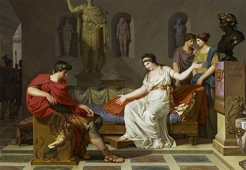 Octavian and Cleopatra