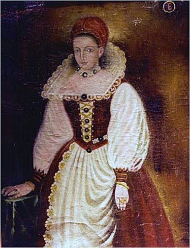 Official portrait of Erzsébet Báthory