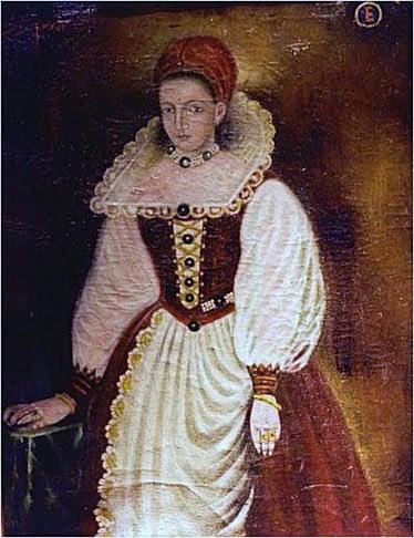 Official portrait of Erzsébet Báthory