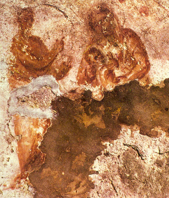 Possibly the oldest portrayal of the Virgin Mary is depicted in the Santa Priscilla catacombs- a site which also has evidence suggesting women in the priesthood of early Christianity