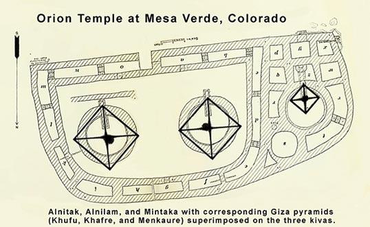Orion Temple at Mesa Verde, Colorado