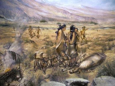 A Paleoindian campsite