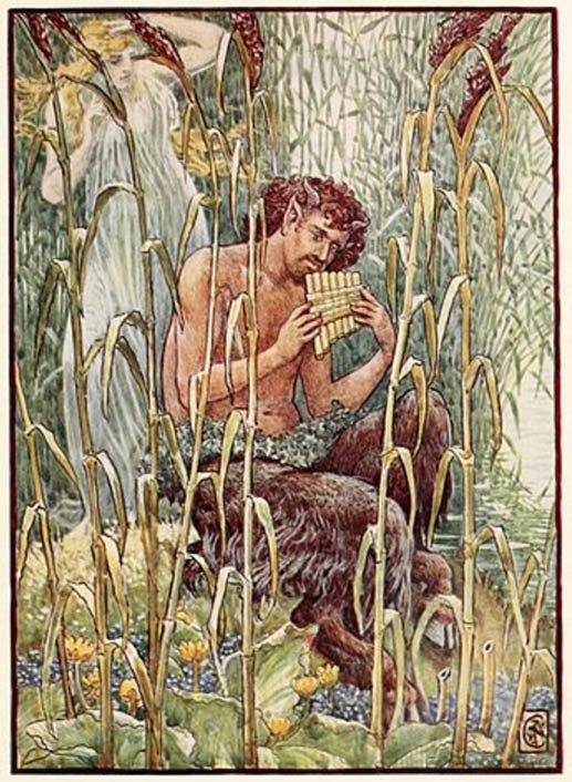 Pan is considered a protector of the wilds, looking over both those who cultivate it and nature itself as a vast wilderness