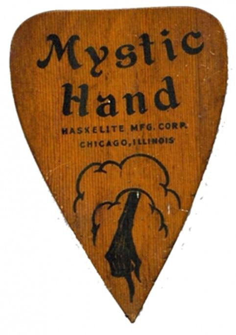 """Mystic Hand"" planchette."