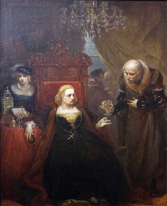 Poisoning of Queen Bona by Jan Matejko.