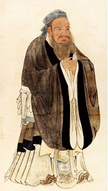 A portrait of Confucius (Public Domain)