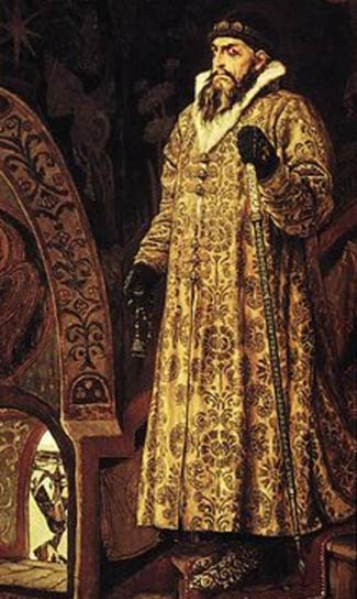 A portrait of Ivan IV by Viktor Vasnetsov
