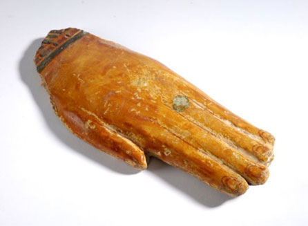 Prosthetic hand – ancient Egypt