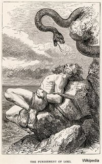 The Punishment of Loki - Norse Mythology