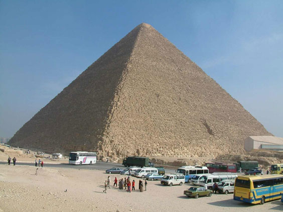 The Tower of Babel at Giza