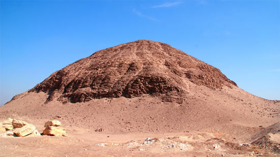 The pyramid of Amenemhat III in Hawara