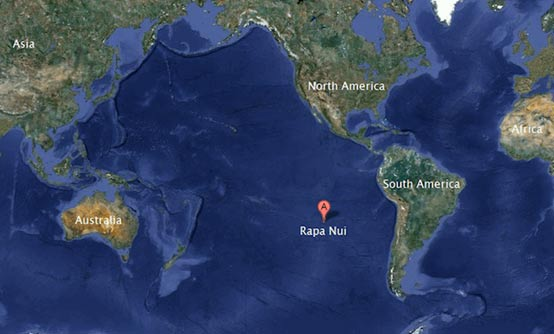 Rapa Nui - Map