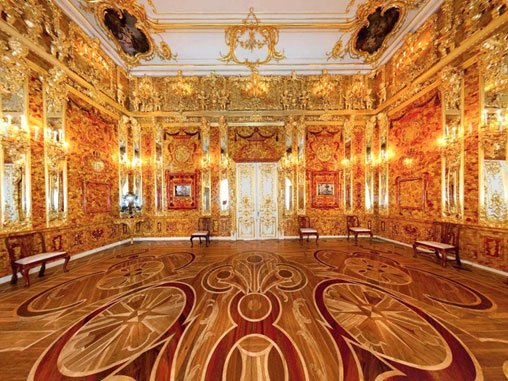 The disappearance of the amber room of charlottenburg for Camarade de chambre
