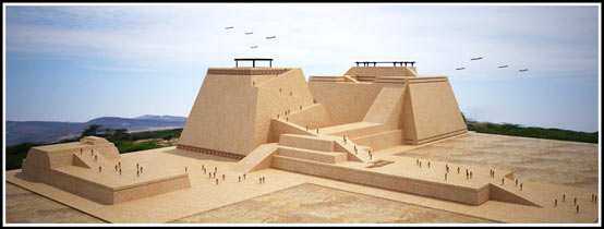 A reconstruction of the Huaca Rajada