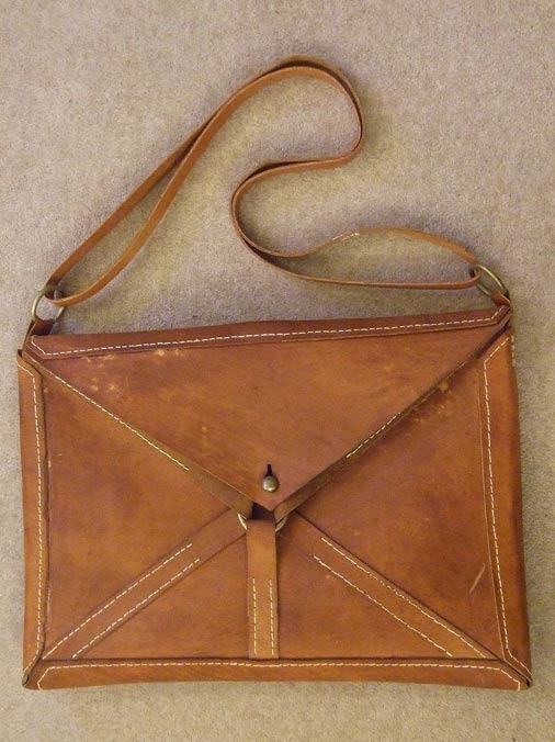 A reconstruction of the Loculus, an ancient satchel believed to contain the blood of Jesus.