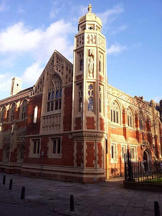 The refurbished Old Divinity School of St John's College, Cambridge.