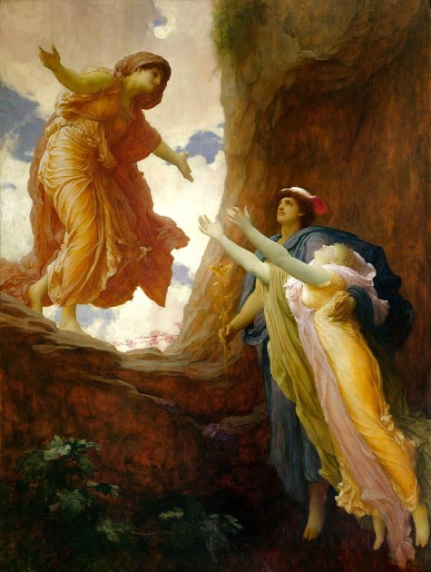 The return of Persephone to Demeter. (Shuishouyue / Public Domain)