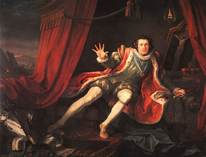 David Garrick as Richard III
