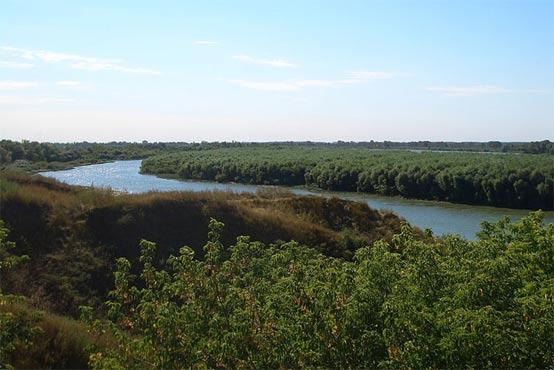 The River Irtysh, Siberia