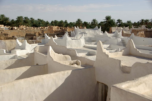 The roof tops of Ghadames