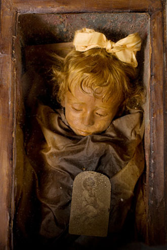 "Rosalia Lombardo, the ""Sleeping Beauty"" - Capuchin catacombs of Palermo"