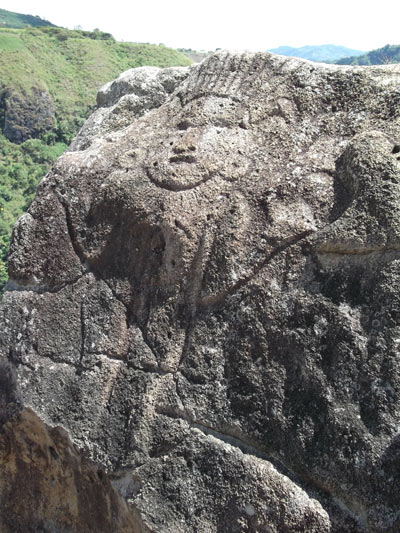 La Chaquira carvings