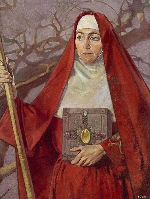 Saint Brigid.