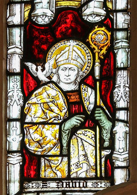 Saint David, patron saint of Wales. (Lawrence OP / CC BY-NC-ND 2.0)