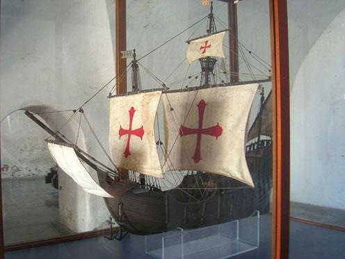 Santa Maria Ship Model
