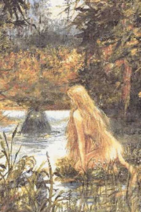 The seductive huldra (public domain)
