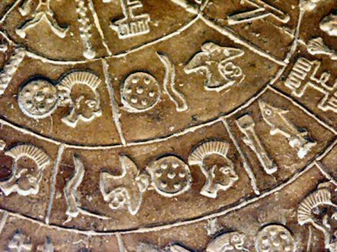 Picture segments inscribed on the Phaistos Disc