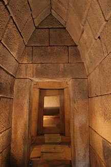 The tomb of Seuthes III
