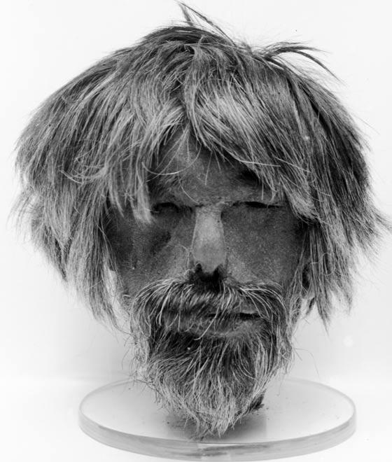 A shrunken head, Wellcome Images