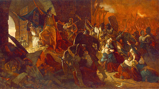 The siege of Szigetvar