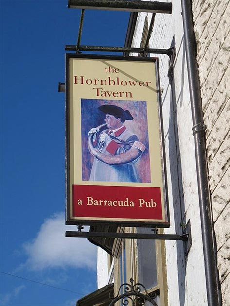 Sign of the Hornblower, Ripon. (Stephen Craver/CC BY SA 2.0)