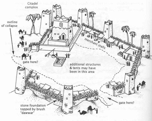 Iram Of The Pillars The Lost Atlantis Of The Sands Ancient Origins
