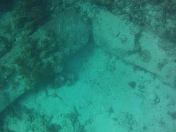 "Strange Slab ""Found by a research team off the coast of Bimini"