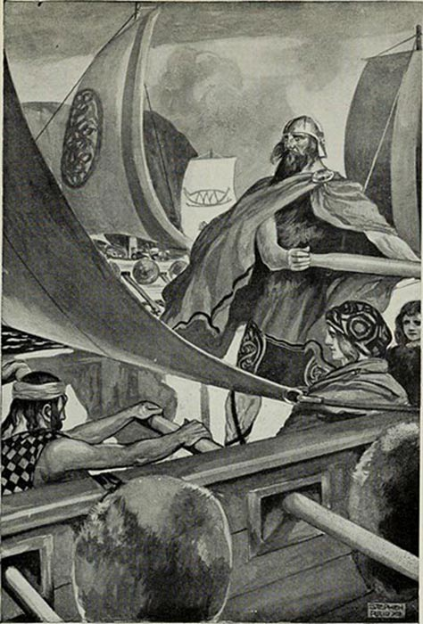 'The Coming of the Sons of Miled' - THE COMING OF THE MILESIANS (1910).