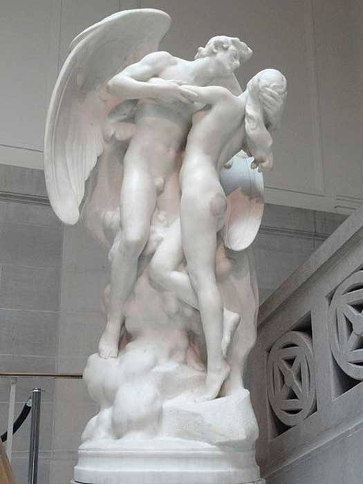 The Sons of God Saw the Daughters of Men That They Were Fair (1923) by Daniel Chester French. Corcoran Gallery of Art. (CC0)