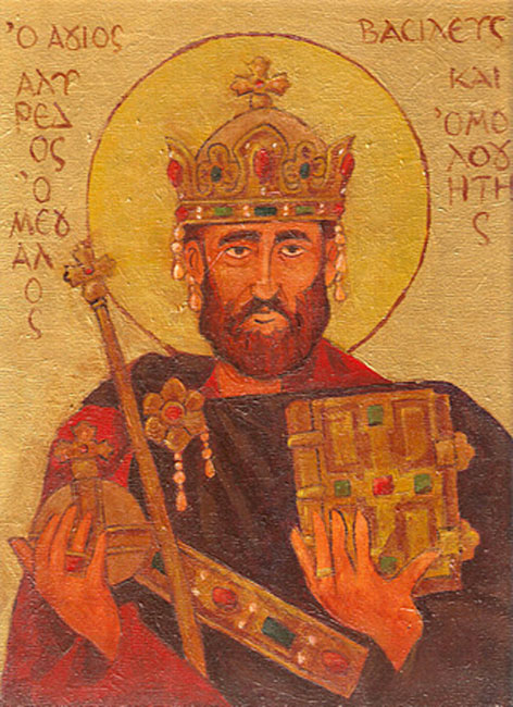 St. Alfred the Great.