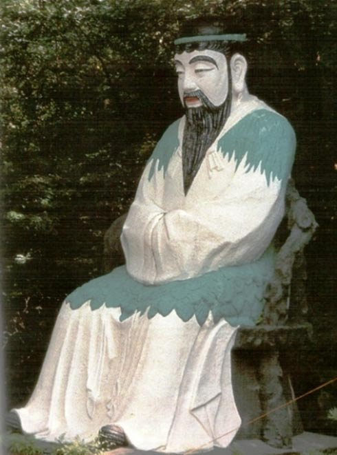 A statue of Dangun.