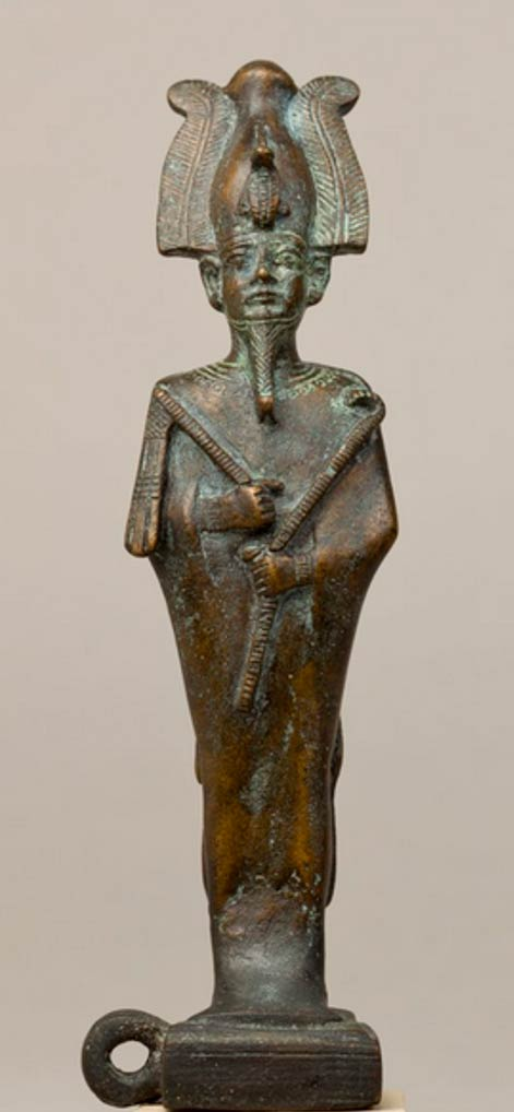 Late Period–Ptolemaic Period statue of Osiris