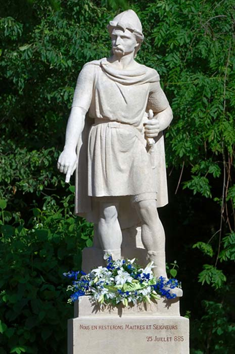 A statue of Rollo or Gange-Rolf