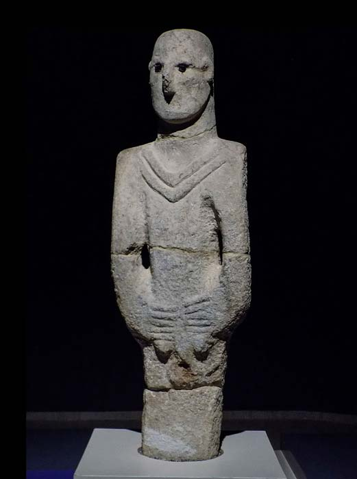 Balikli Göl otherwise known as Urfa Man is the oldest statue of natural size, well preserved in human history. (पाटलिपुत्र / CC BY-SA 4.0)