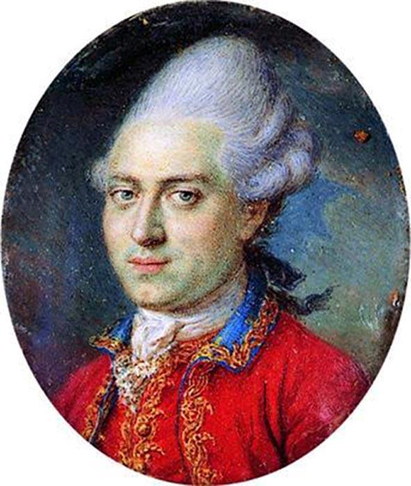 Portrait of Struensee, 1770