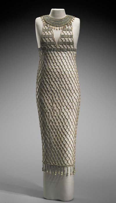 High Fashion of Ancient Egypt: The Bead-Net Dress   Ancient Origins