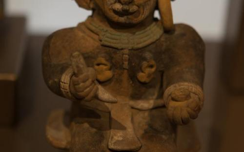 Shaman Fingurines and their transformations (Quito Museum, Ecuador)