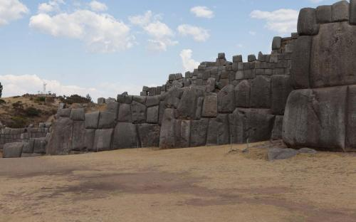 The walls of Saksaywaman, Cusco, Peru.